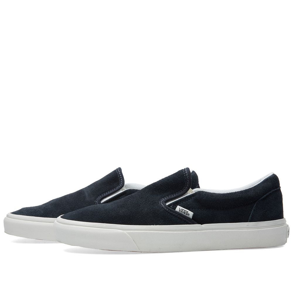 3753983bc2 Vans California Classic Slip On Blue Graphite   Blanc