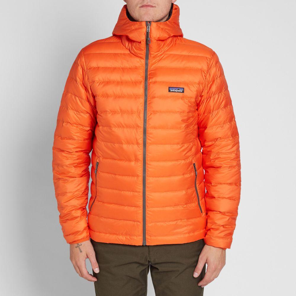 e5a5a0c8175 Patagonia Down Sweater Hoody Cusco Orange