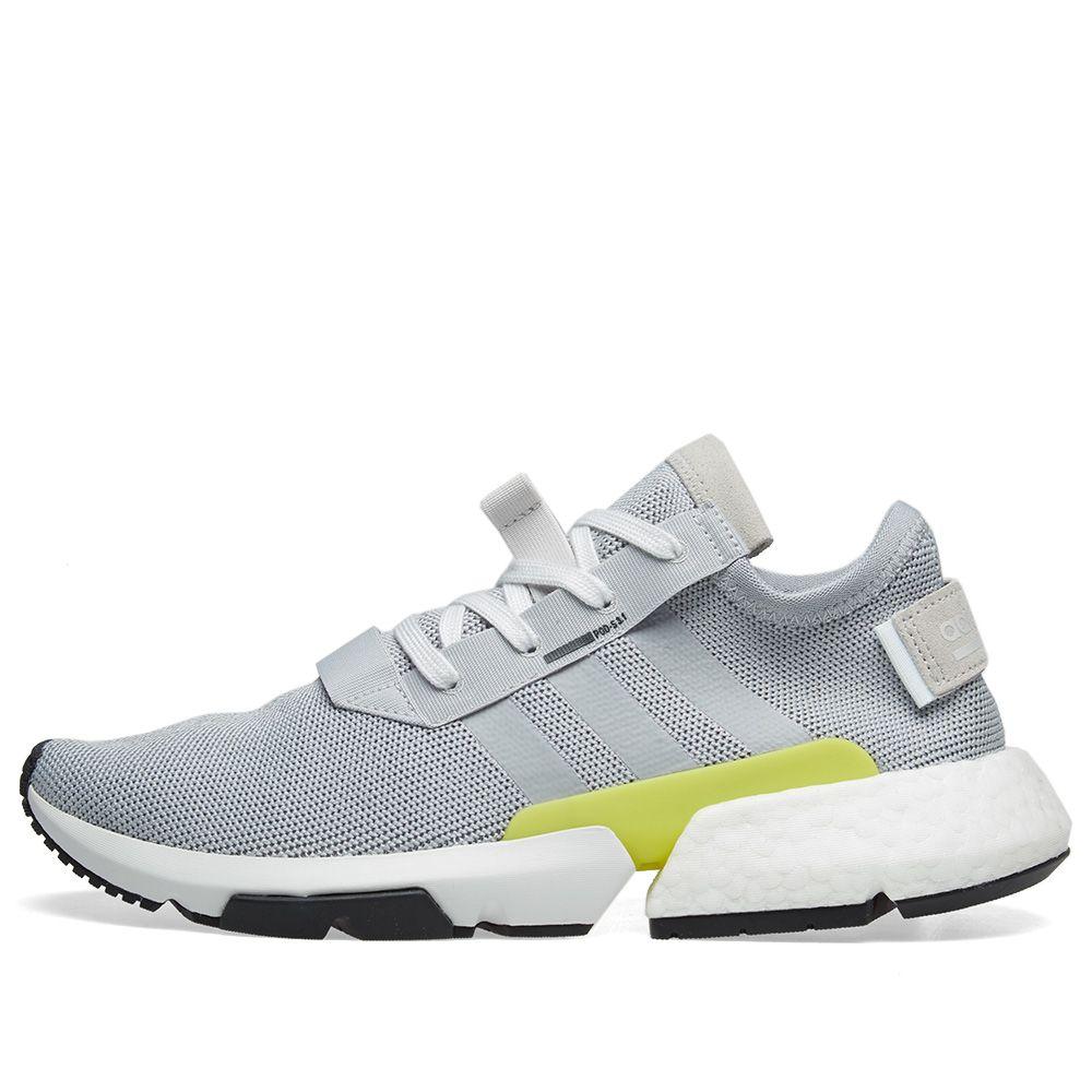 9185890692ab Adidas POD-S3.1 Grey   Shock Yellow