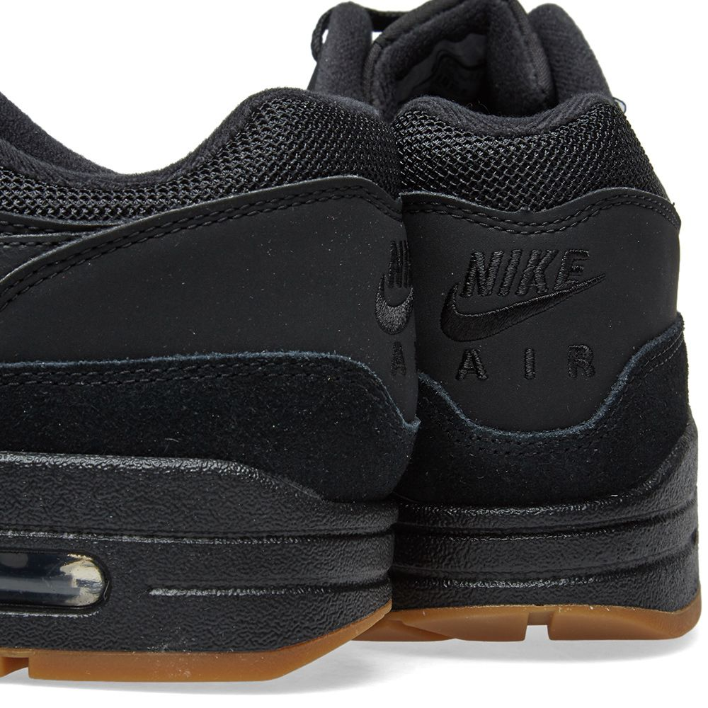 best website 61f89 adf2a Nike Air Max 1 Black, Gum  Brown  END.