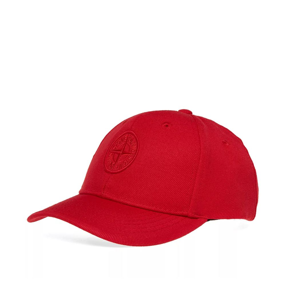 Stone Island Junior Baseball Cap Red  041fcfe3a4fe