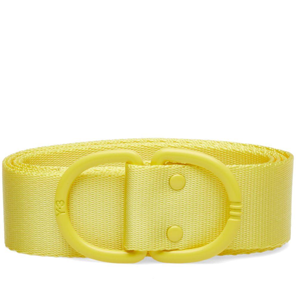 9f3c240a9b7f Y-3 Logo Belt Yellow