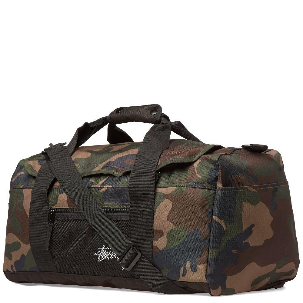 80added0f1 Stussy Stock Duffle Bag Woodland Camo