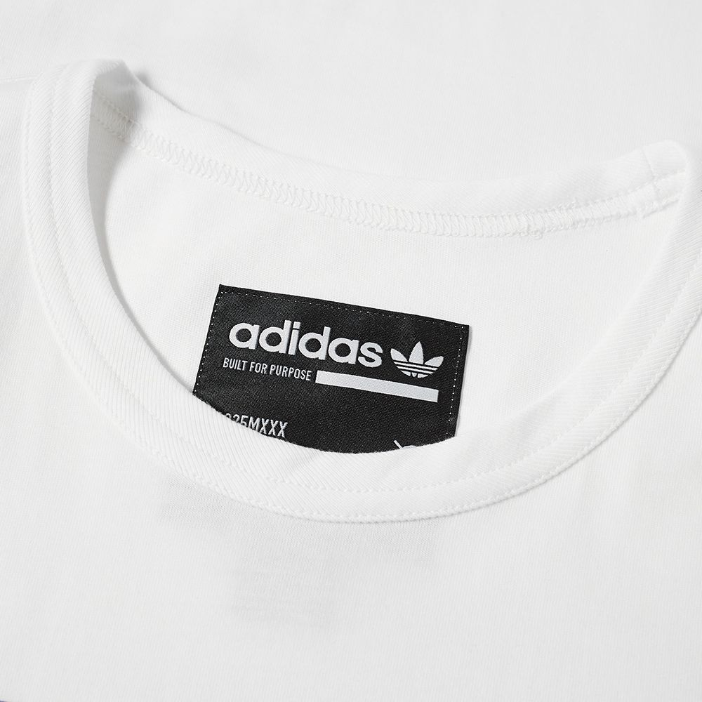 be03573a07d Adidas Kaval GRP Tee Cloud White   Real Lilac
