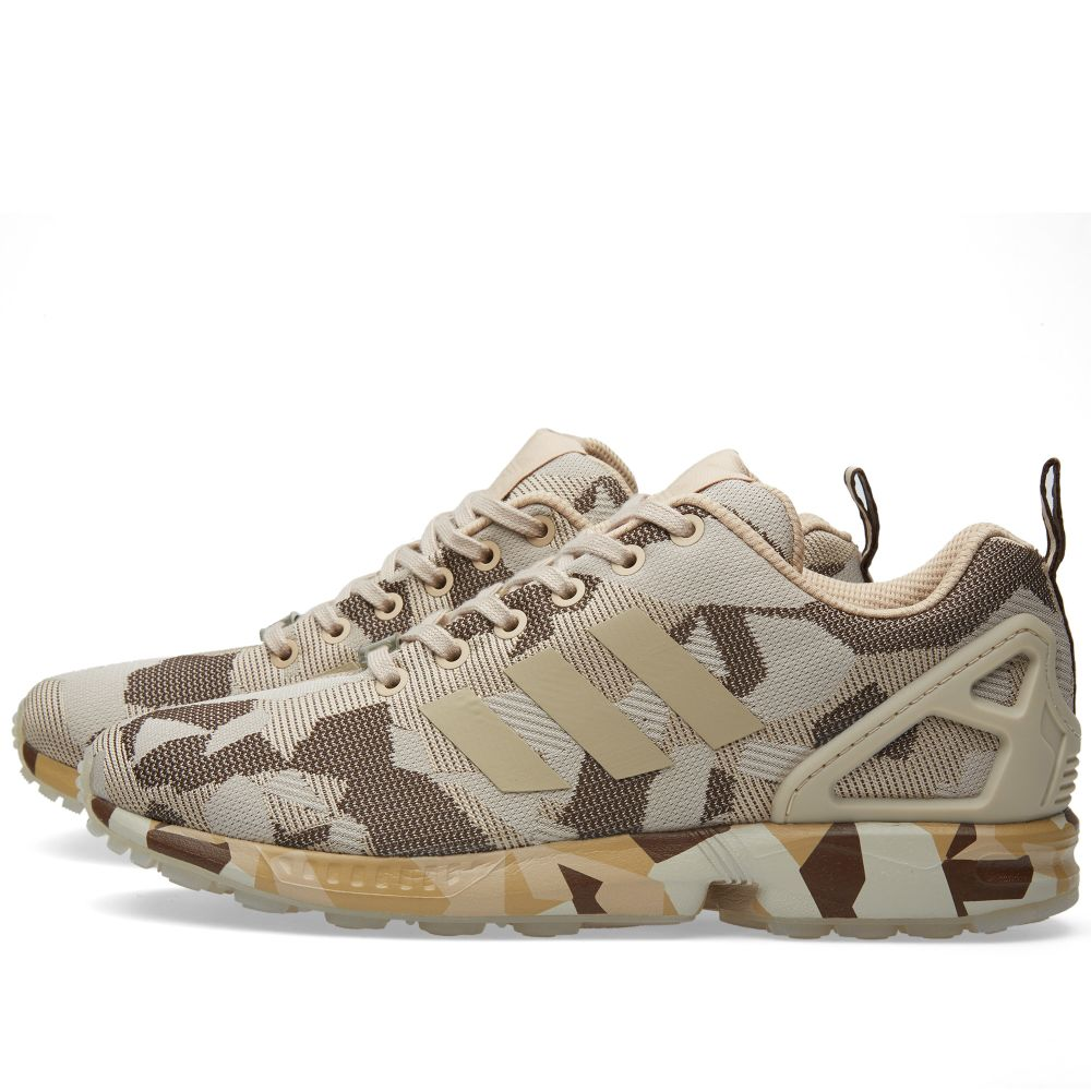 6a906b01dcb63 Adidas ZX Flux. Clear Brown ...