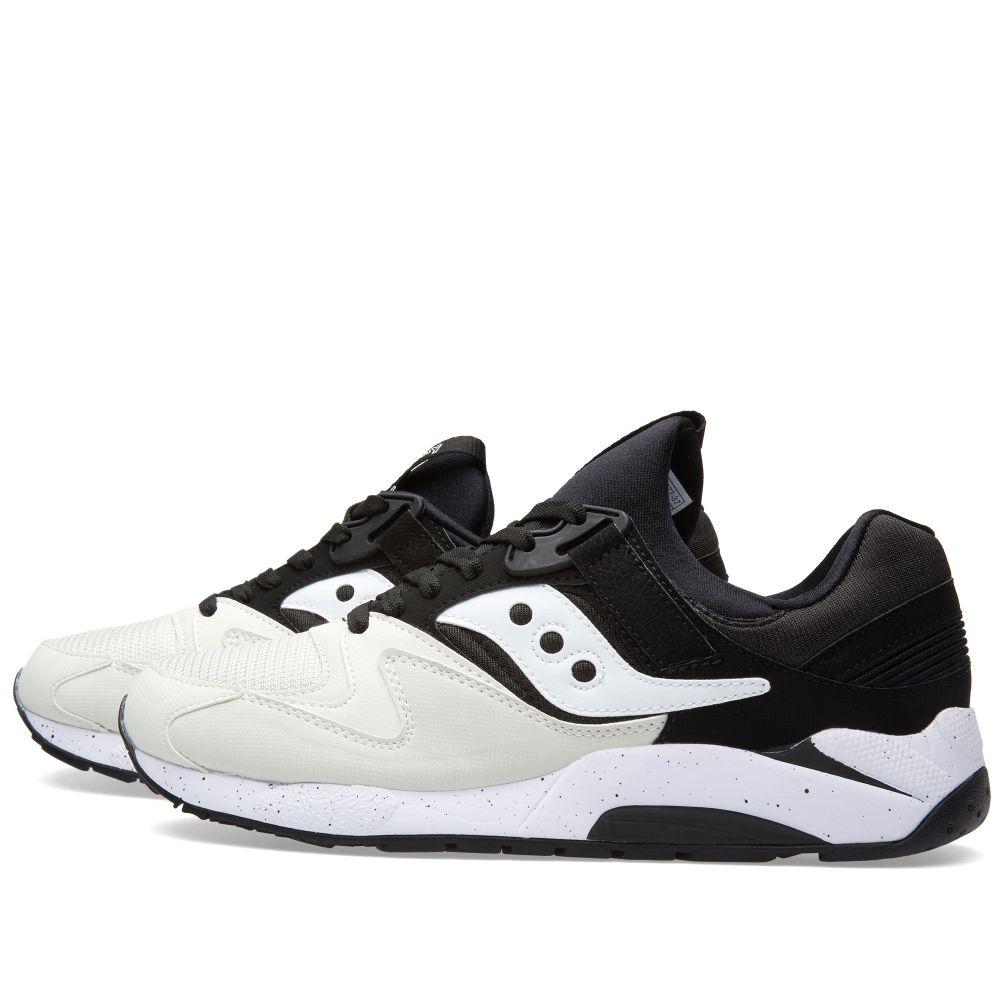 23189f9acc78 Saucony Grid 9000 White   Black