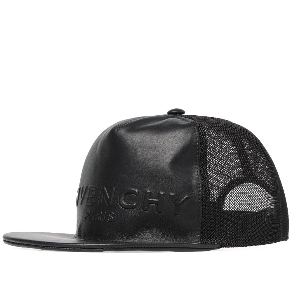 c9436c1cdfe Givenchy Paris Embossed Logo Cap Black