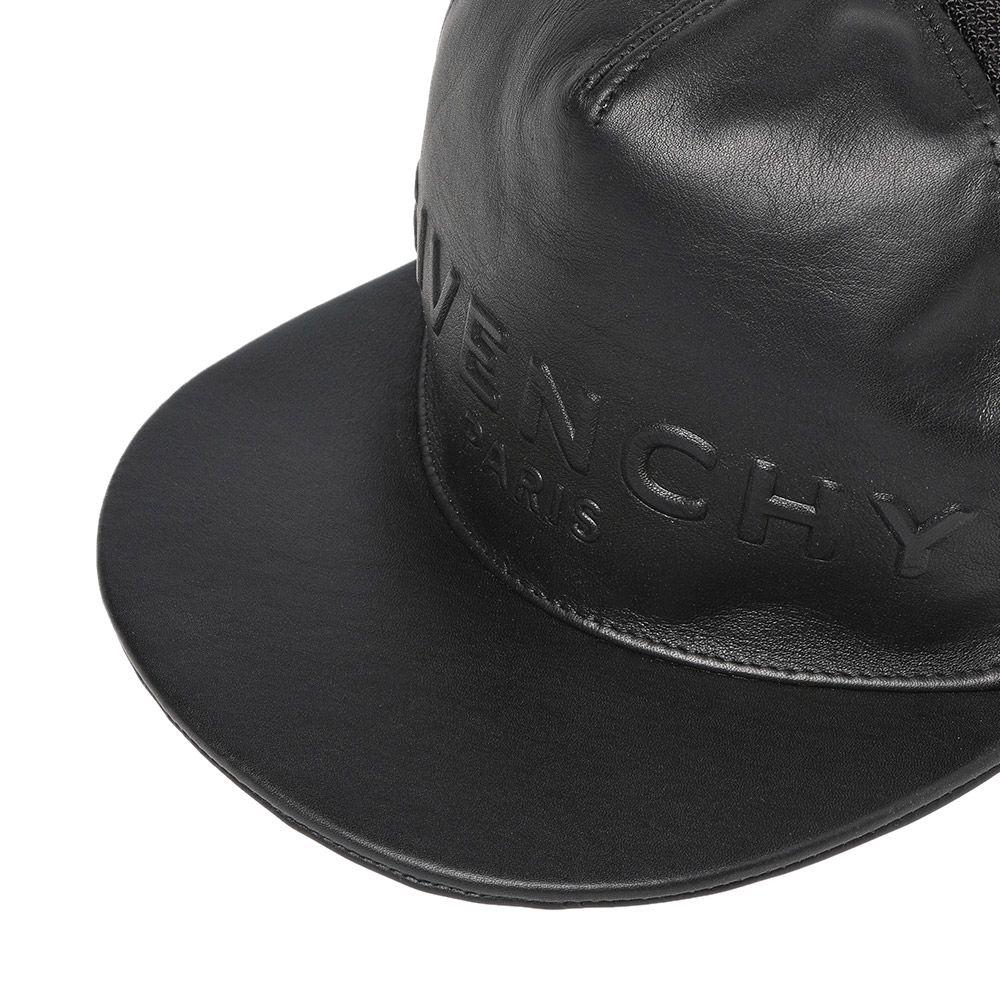 d2d5efd0c29 Givenchy Paris Embossed Logo Cap Black
