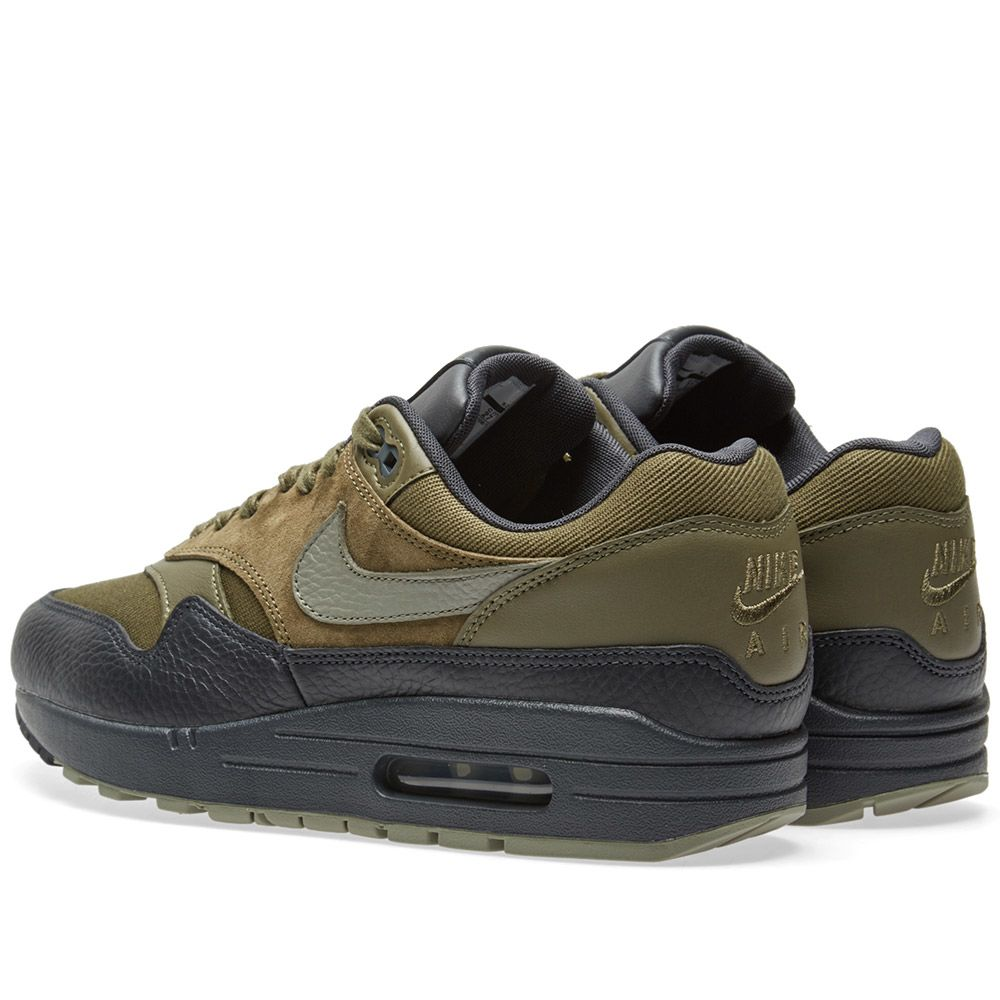 ba271a45bb43 Nike Air Max 1 Premium Medium Olive   Dark Stucco