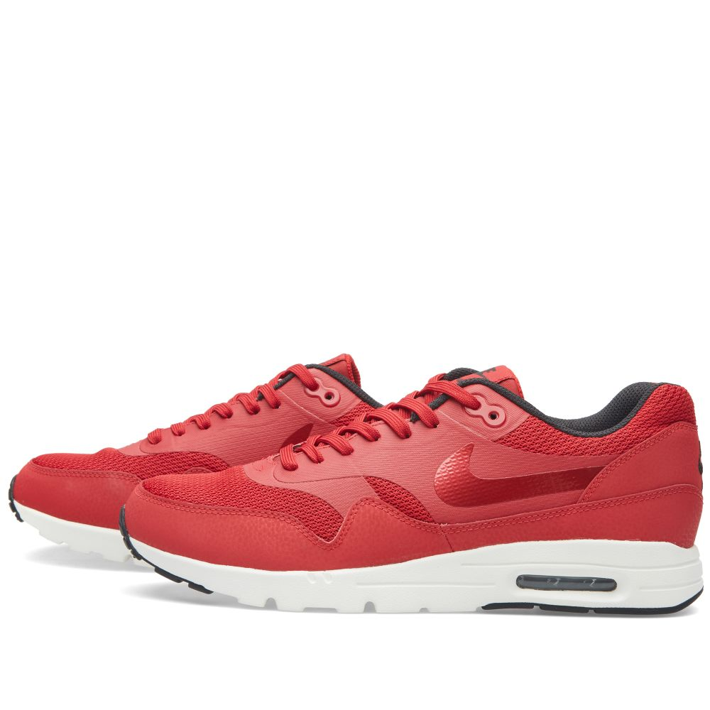 241fdf9515 Nike W Air Max 1 Ultra Moire Essential. Gym Red, Black & Sail. £95 £39.  image