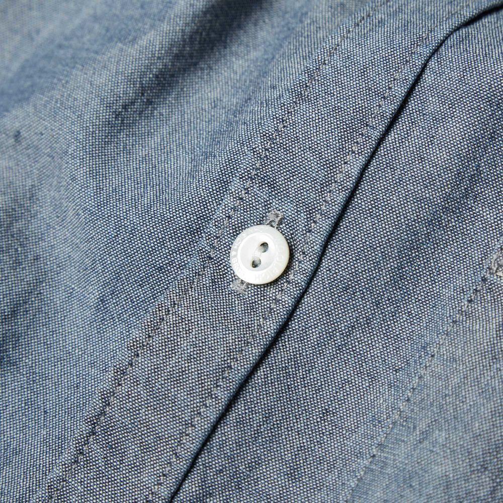 cb4e24abf96 Woolrich Chambray Shirt Blue