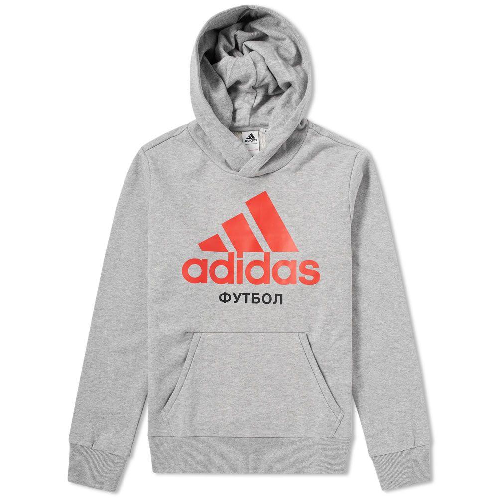 367a727ec Gosha Rubchinskiy x Adidas Hoody Grey   END.