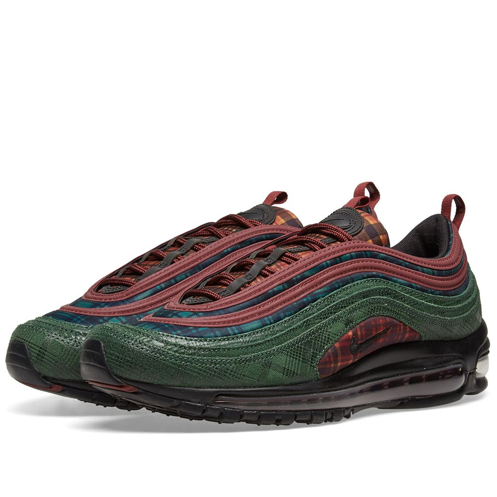 b6bf3a0358e Nike Air Max 97 NRG Team Red   Midnight Spruce