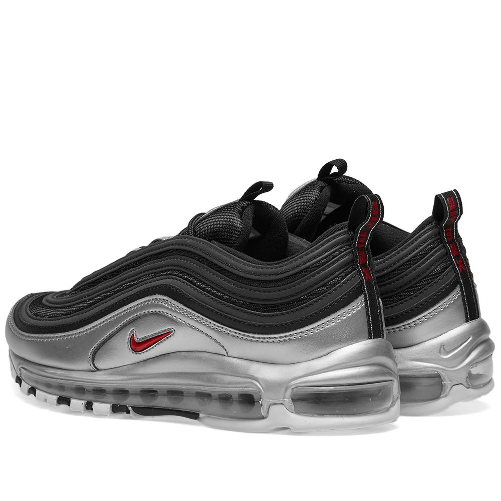3f5a2d3b917 Nike Air Max 97 QS Black   Varsity Red   Silver
