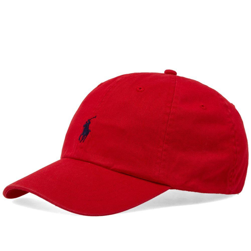 Polo Ralph Lauren Classic Baseball Cap. Red   Flag Blue. HK 339. image 65c813e6bb12