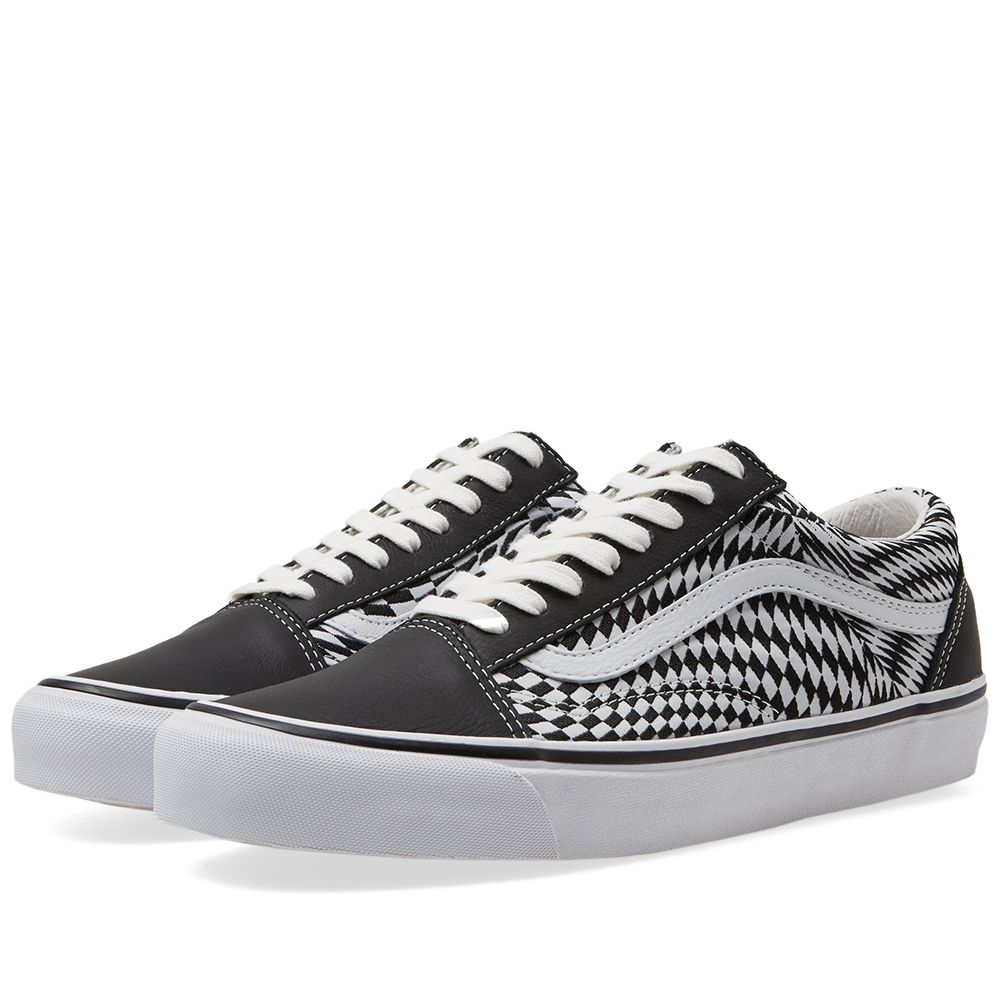 17ab24b3a67 END. x Vans OG Old Skool LX  Vertigo  Black   True White