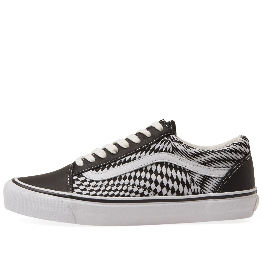 END. x Vans OG Old Skool LX  Vertigo  Black   True White  733473445