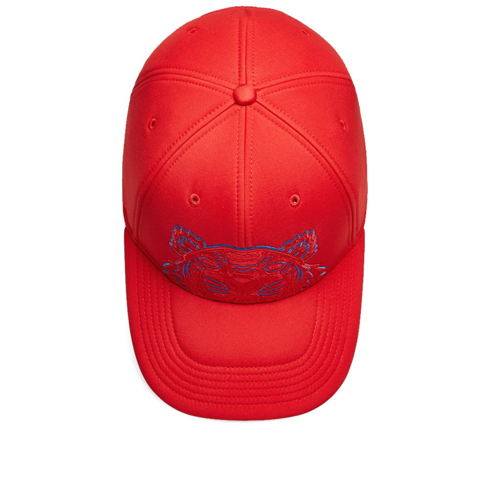 03f235b9a0c Kenzo Neoprene Tiger Cap Medium Red