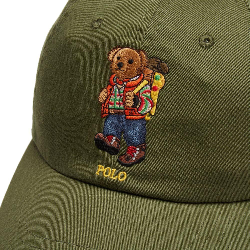 Polo Ralph Lauren Hiking Bear Cap Green  8035532a4e3