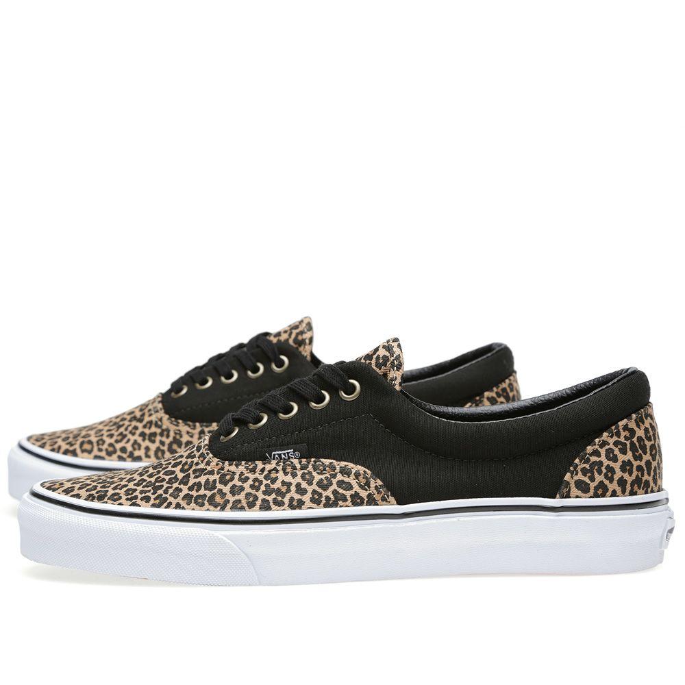 fb35612c0a Vans Era Herringbone Black   Leopard