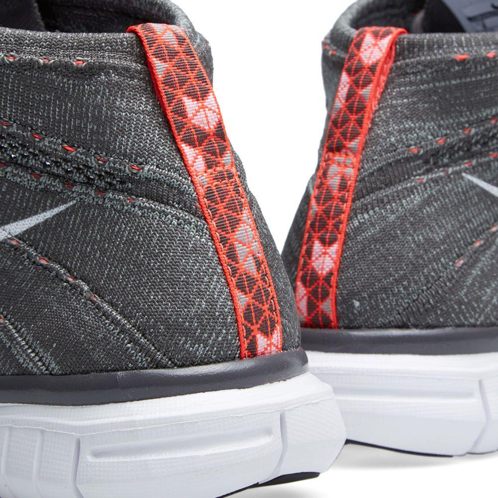 af3ffe657c Nike Free Flyknit Chukka Midnight Fog   White