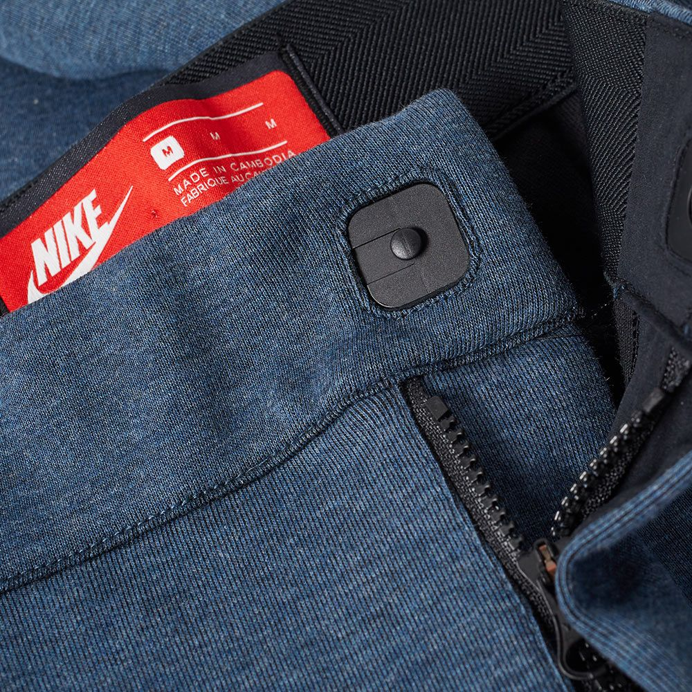 089e81ef2d30 Nike Tech Fleece Cropped Pant Squadron Blue Heather   Black