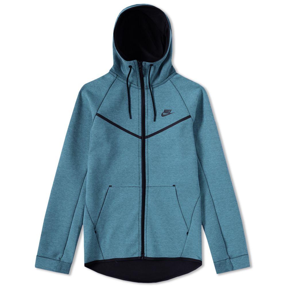 213a5ca278bb Nike Tech Fleece Windrunner Smokey Blue Heather   Black