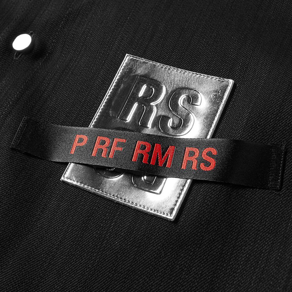 690a624a5fc Raf Simons Tape and Patch Denim Shirt Black