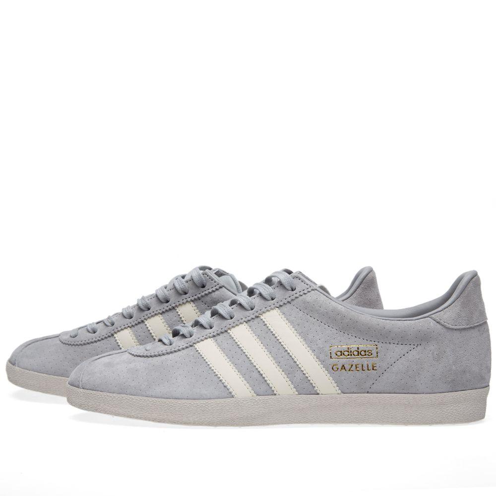 sports shoes 74866 c6af4 Adidas Gazelle OG. Solid Grey, White ...