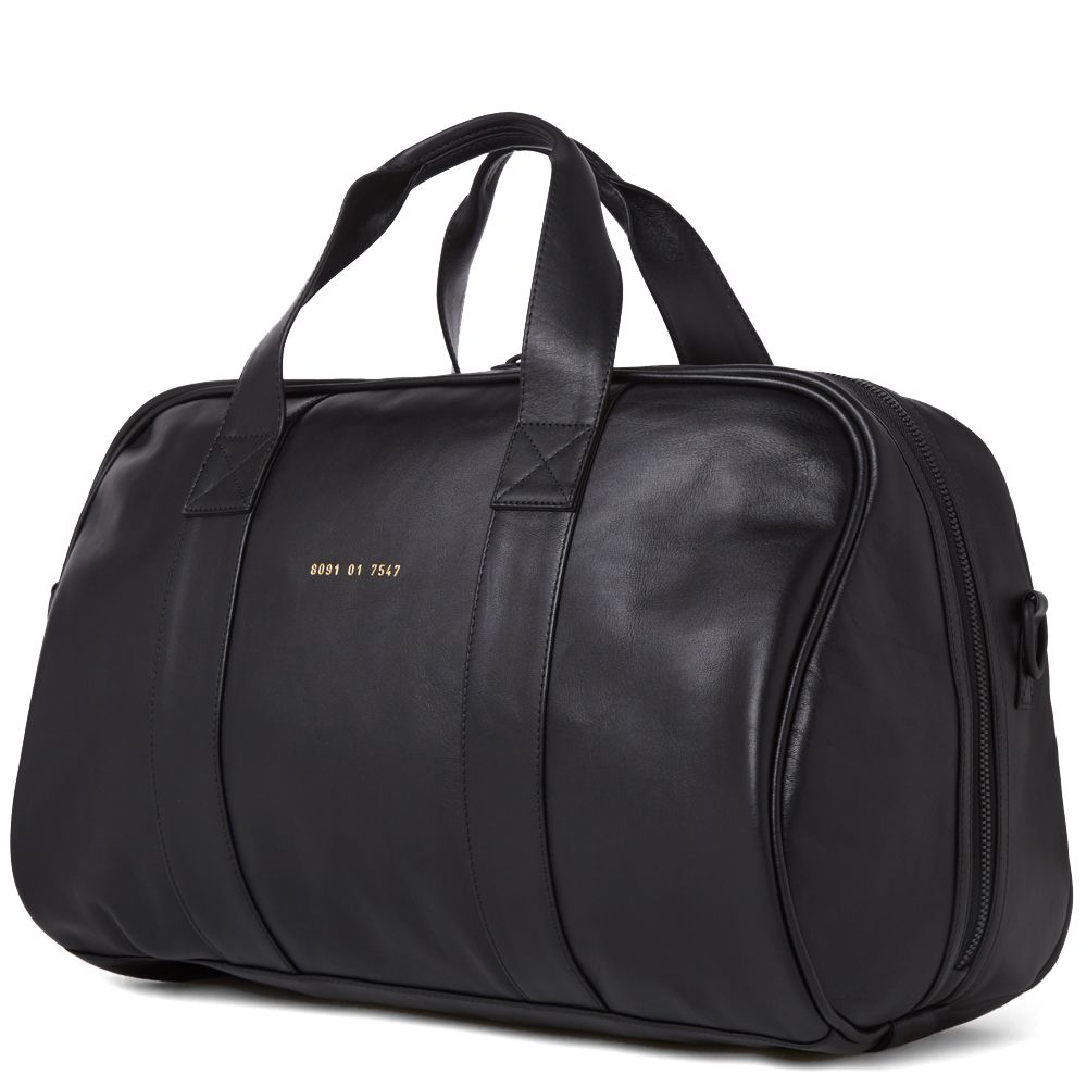 14ff338d35 Common Projects Leather Duffle Bag Black