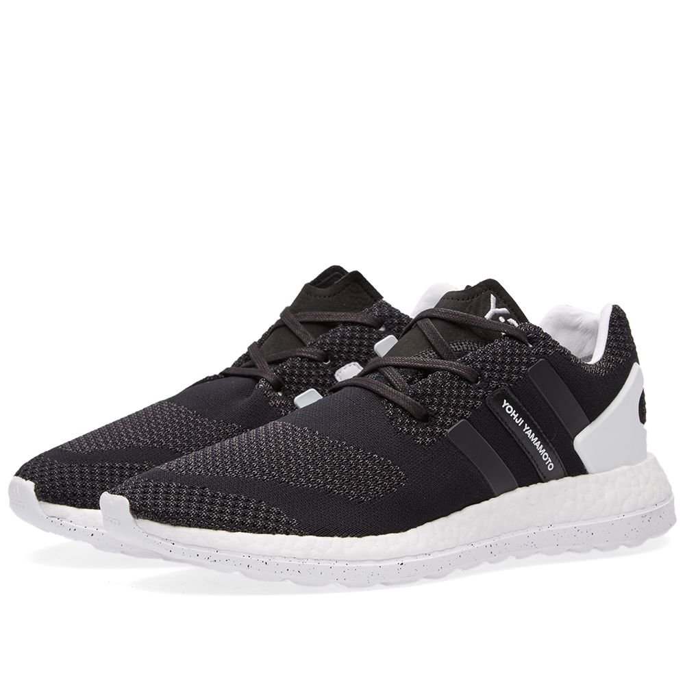 d2ecb29f0d40 Y-3 Pure Boost ZG Knit Black