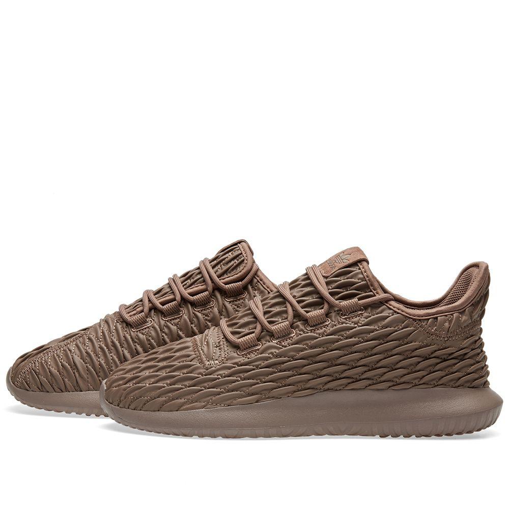 01fcfee9d27a Adidas Tubular Shadow Trace Brown