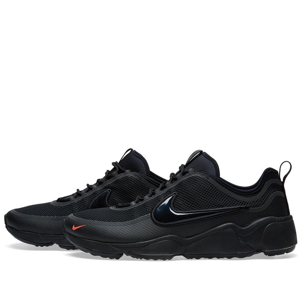 d314d3977a35 Nike Air Zoom Spiridon Ultra Black   Bright Crimson