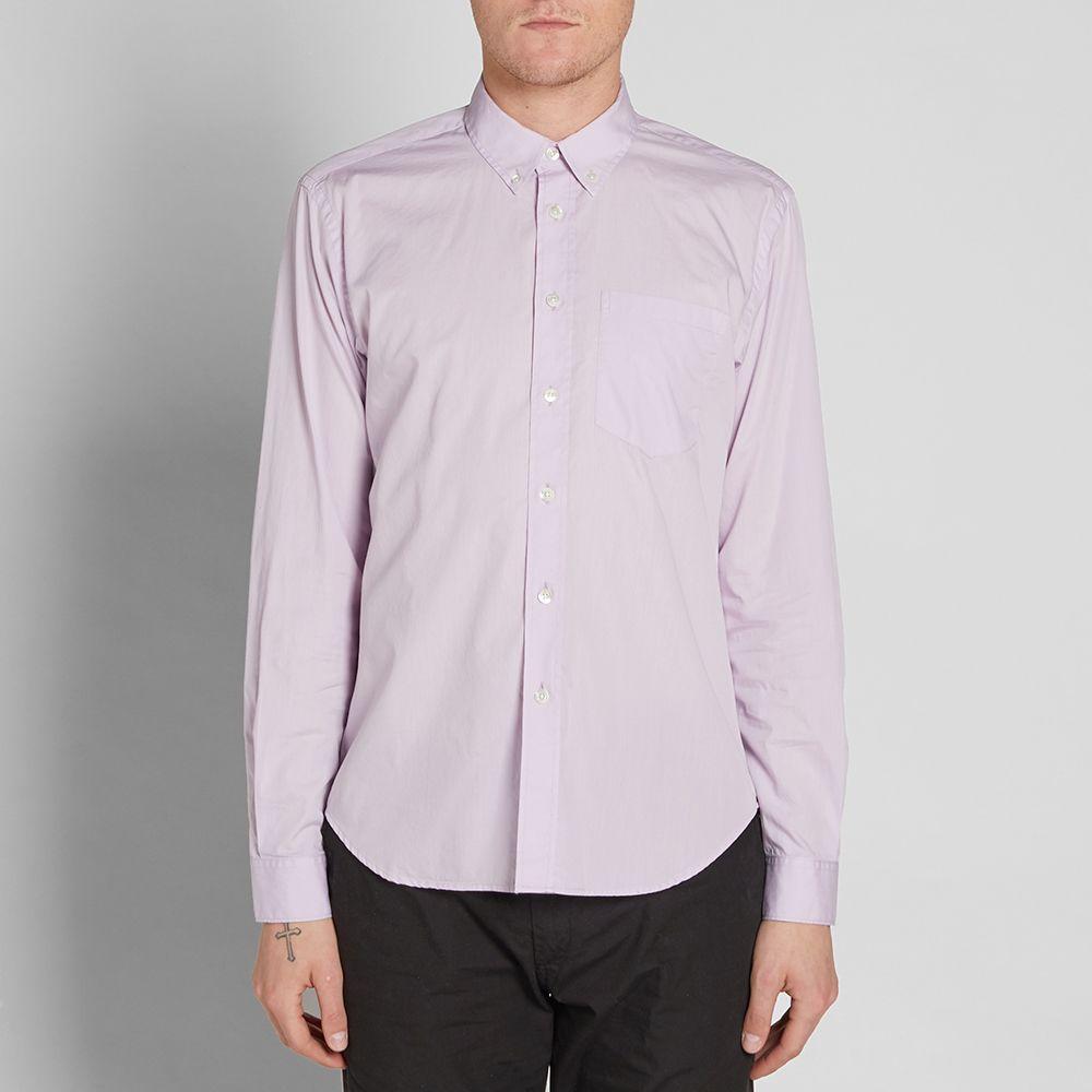 3178642a062e Très Bien Button Down Shirt Lavender