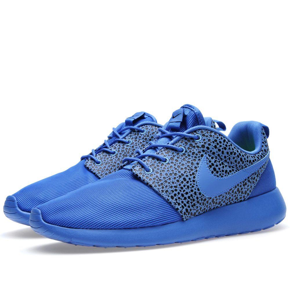 reputable site 3c7c9 e4c63 Nike Rosherun Premium 'Safari' Blitz Blue & Black   END.