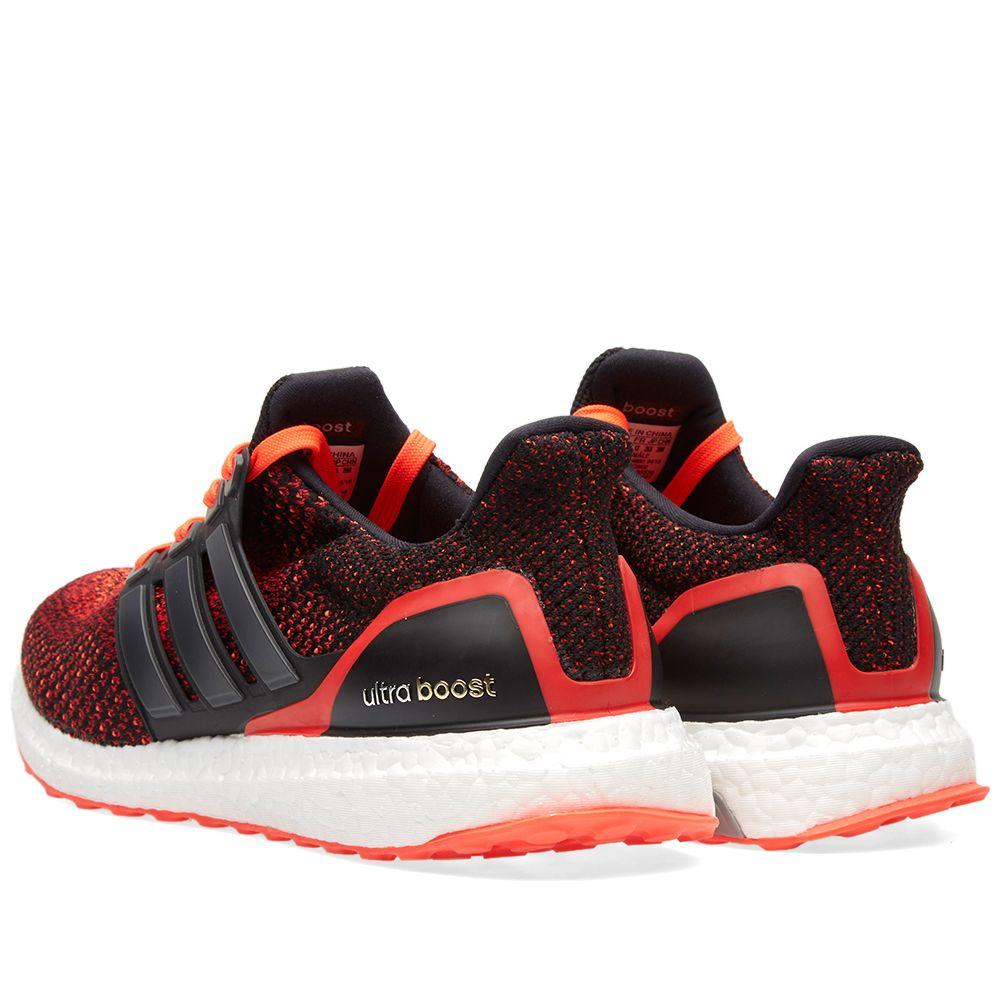 13e8cb9639ad8 Adidas Ultra Boost M Core Black   Solar Red