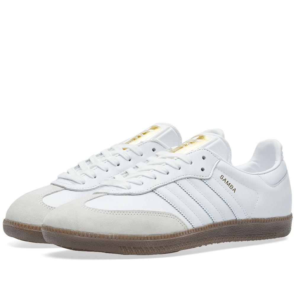 Adidas Women s Samba OG W. White   Gum. CA 125 CA 75. image 86bb0861c