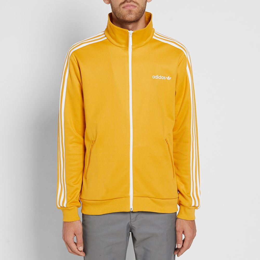 f34430f75cd3 Adidas Beckenbauer Track Top Tactile Yellow