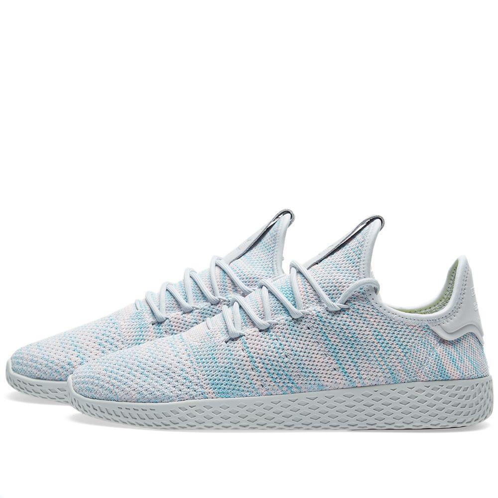 2478e7d4ba4f Adidas x Pharrell Williams Tennis HU Light Blue