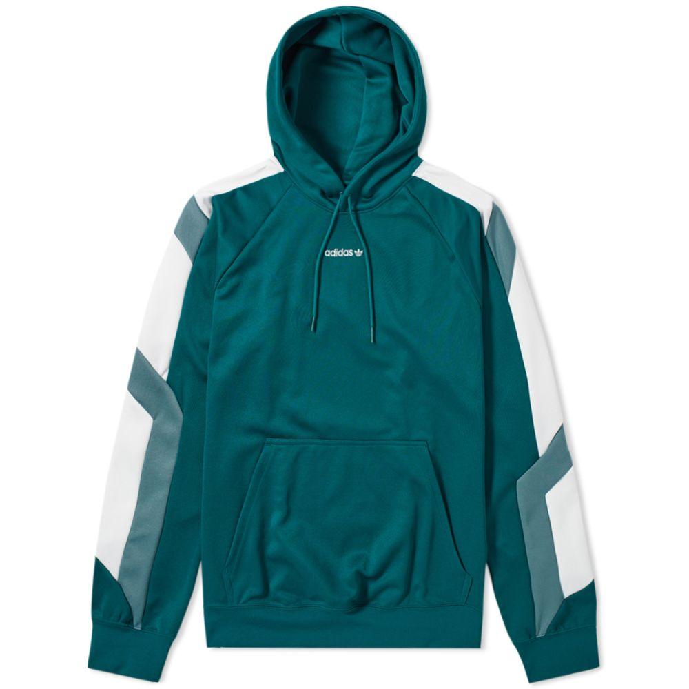 50f2dd8d41e5 Adidas EQT Block Hoody Noble Green