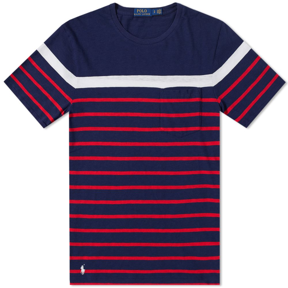 8d6eeabf54cc homePolo Ralph Lauren Multi Stripe Tee. image. image. image. image. image.  image. image. image