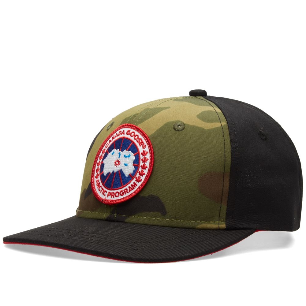 Canada Goose Adjustable Ball Cap. Camo   Black.  45. image d31ca68d784