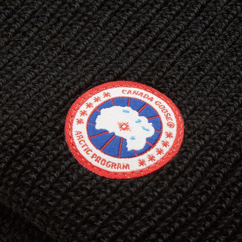 Canada Goose Merino Wool Watch Cap. Black.  69. image f95605a218ac