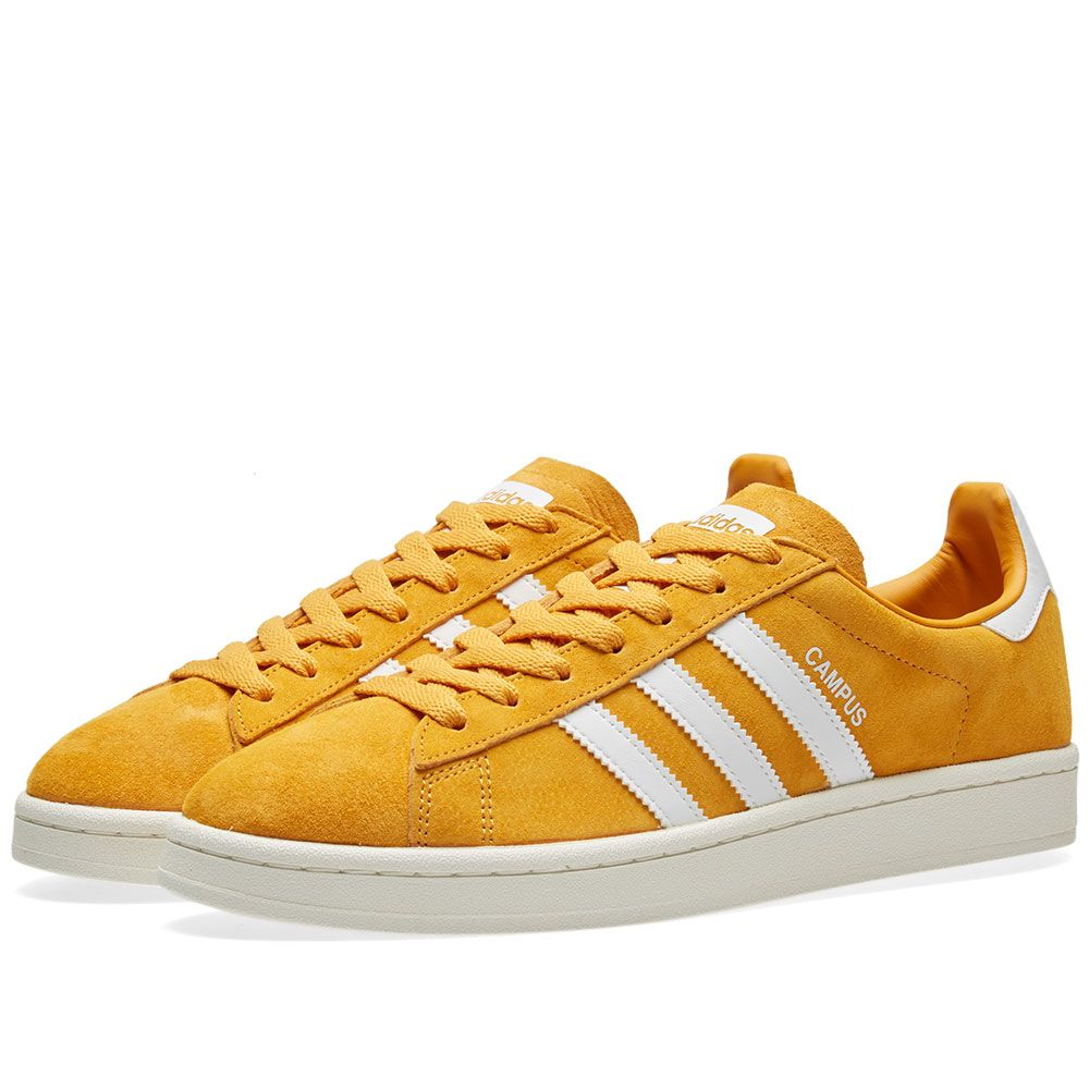 Adidas Campus Tactile Yellow   White  2353e567be4f