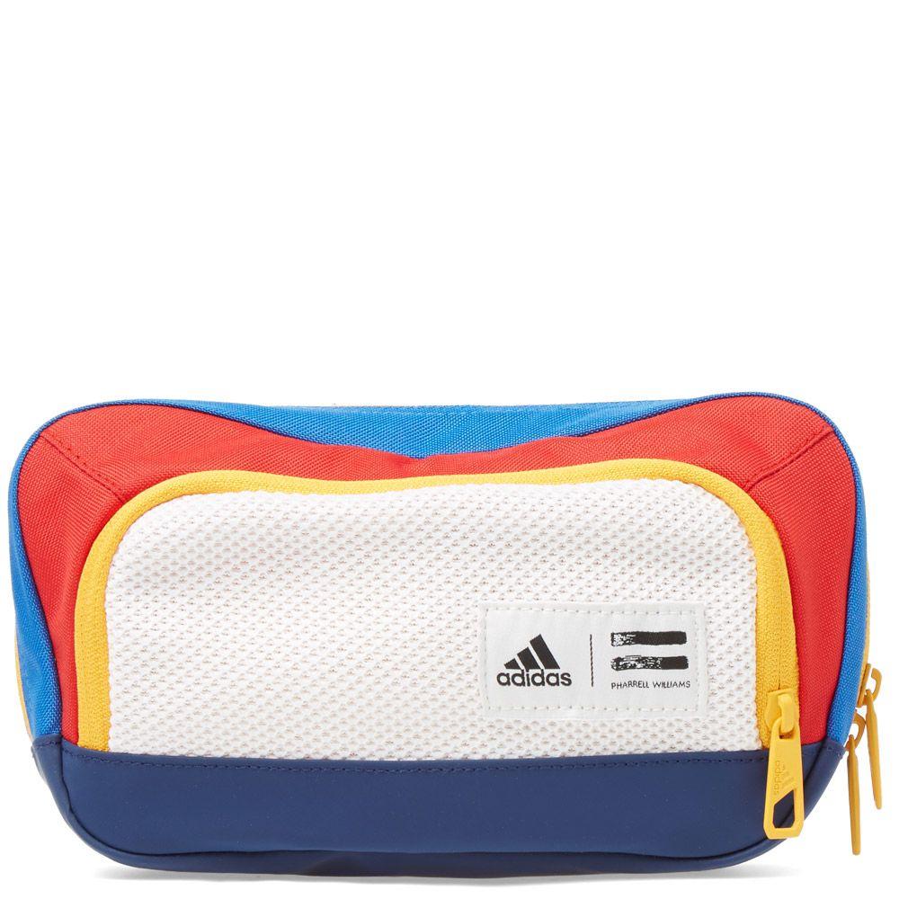 Adidas x Pharrell Williams US Open Belt Pack. Chalk White, Dark Blue   Red.  £55. Plus Free Shipping. image 01cebf73b9