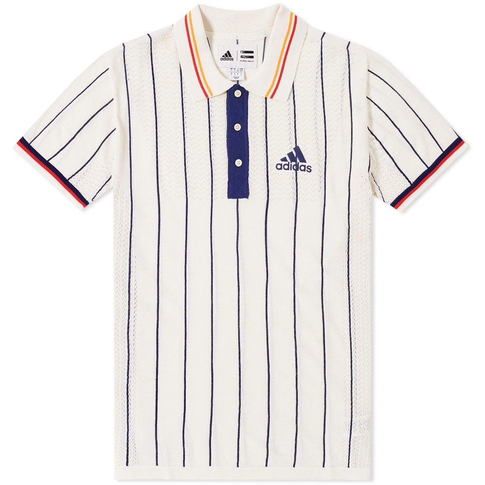 Adidas x Pharrell Williams US Open Polo. Chalk White   Dark Blue. £135.  Plus Free Shipping. image fba63aa07c