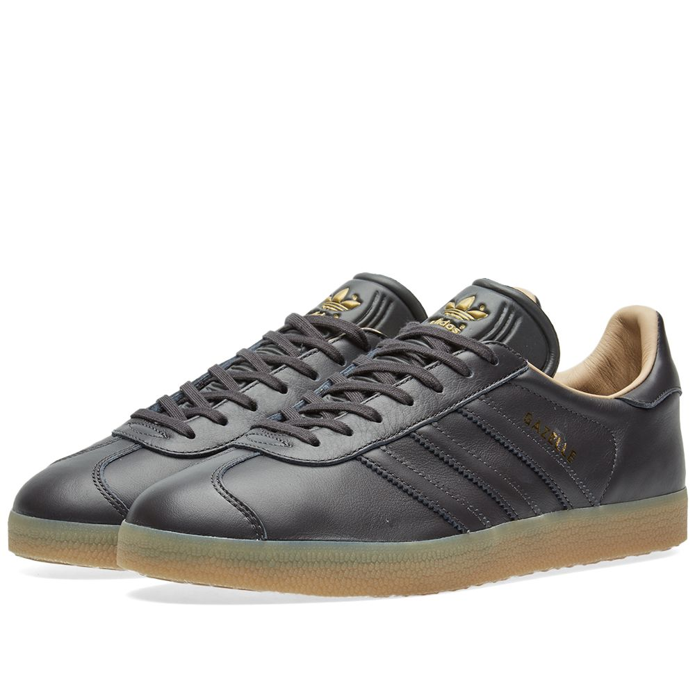 2b63b2b8885 Adidas Gazelle Utility Black
