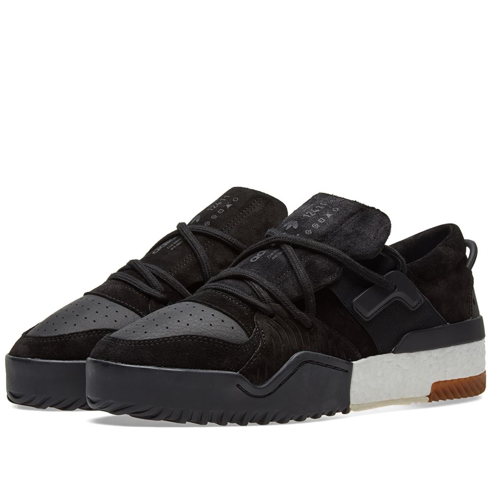 Adidas Originals by Alexander Wang BBall Low Black  c411a5f43308