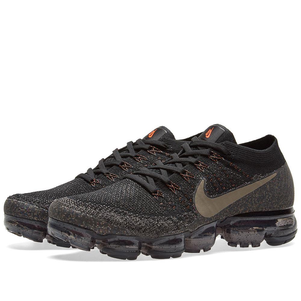 NikeLab Air Vapormax Flyknit. Black   Dark Mushroom. CA 259. image ba789e42d