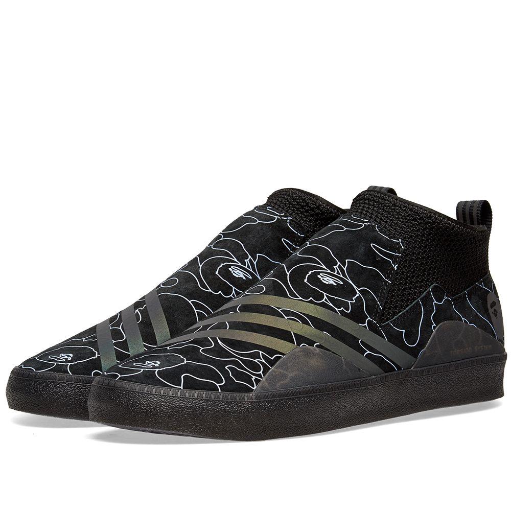 the best attitude 29dc3 bf97c Adidas Consortium x Bape 3ST.002 Black  END.